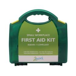 Cheap Stationery Supply of 2Work BSI Compliant First Aid Kit Small 2W99437 Office Statationery
