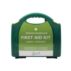 Cheap Stationery Supply of 2Work BSI Compliant First Aid Kit Medium 2W99438 Office Statationery