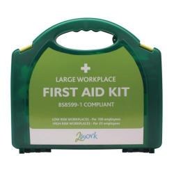 Cheap Stationery Supply of 2Work BSI Compliant First Aid Kit Large 2W99439 Office Statationery