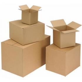 Packing Carton Double Wall Strong Flat Packed 305x229x229mm Brown Pack of 15