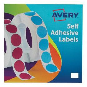 Avery Labels in Dispenser on Roll Rectangular 18x12mm White Ref 24-415 2000 Labels