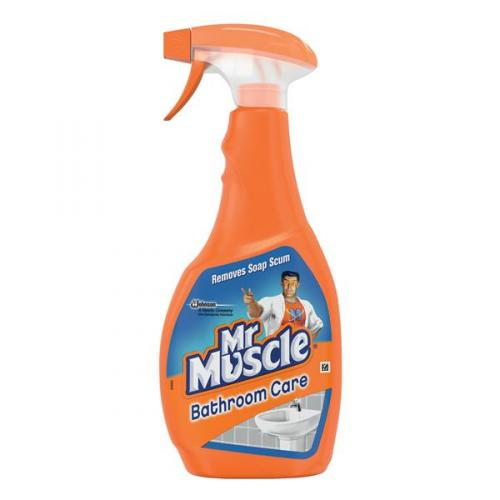 Mr Muscle Bathroom Cleaner Spray Bottle 5 In 1 500ml 1005055