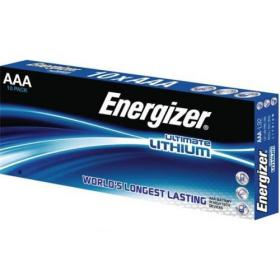 Energizer Ultimate Battery Lithium L92 1.5V AAA Ref 639754 Pack of 10