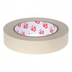 Cheap Stationery Supply of 5 Star Office Masking Tape Crepe Paper 25mm x 50m Pack of 6 Office Statationery