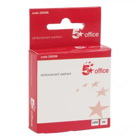 5 Star Office Vinyl Reinforcement Washers Box 250