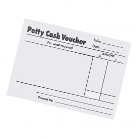 5 Star Office Petty Cash Pad 80 Sheets 88x138mm Pack of 5