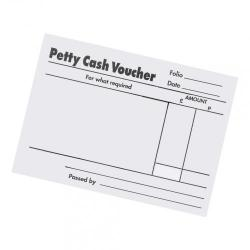 Cheap Stationery Supply of 5 Star Office Petty Cash Pad 80 Sheets 88x138mm Pack of 5 Office Statationery