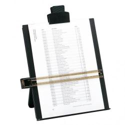 Cheap Stationery Supply of 5 Star Office Desktop Copyholder with Line Guide Ruler A4 Black Office Statationery