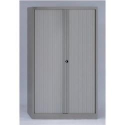 Cheap Stationery Supply of Bisley Tambour Cupboard Steel Side-opening (Grey) AST651W-av4 Office Statationery