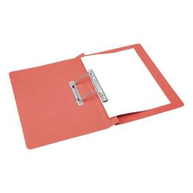 5 Star Office Transfer Spring File Mediumweight 285gsm Capacity 38mm Foolscap Red Pack of 50
