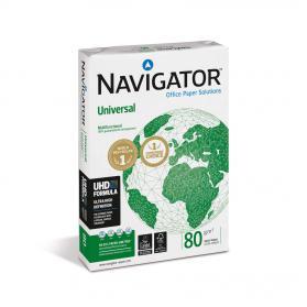 Navigator Universal Paper Multifunctional 80gsm A4 Wht Ref NUN0800033 5 x 500Shts