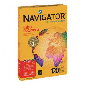 Navigator Colour Documents Paper Ream-Wrapped 120gsm A3 Wht Ref NCD1200017500Shts