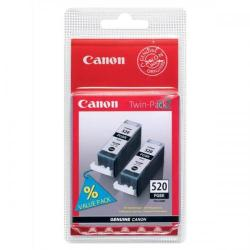 Cheap Stationery Supply of Canon PGI-520BK Inkjet Cartridge Black 350pp 19ml 2932B009 Pack of 2 Office Statationery