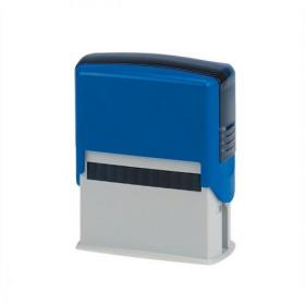 5 Star Office Custom Self-Inking Imprinter Stamp 59x24mm 6 lines