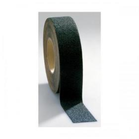 COBA Grip-Foot Tape Anti-slip Grit Surface Hard-wearing W152mmxL18.3m Black Mat Ref GF010004