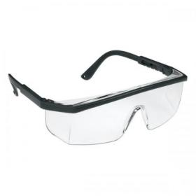 JSP M9100 Wraparound Spectacles HC Polycarbonate Clear Lens Ref ASA240-021-100 SP