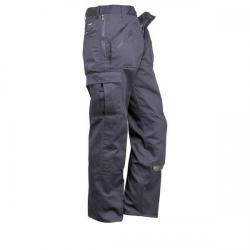 Cheap Stationery Supply of Portwest Action Trousers Polycotton Reinforced Multiple Pockets Navy (Tall 32 inch) S887TALLNAVY32 Office Statationery
