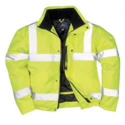 Cheap Stationery Supply of High Visibility Bomber Jacket Polyester Stain-resistant Medium Yellow S463med 321136903 Office Statationery