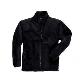 Cheap Stationery Supply of Portwest Heavy Fleece Jacket Polyester Zipped Pockets Black (Medium) F400BLKMED Office Statationery
