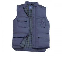 Cheap Stationery Supply of Portwest Polyester and Cotton Body Warmer 2 Pockets Navy (Large) S414NAVYLGE Office Statationery