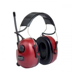 Cheap Stationery Supply of 3M PELTOR HRXS7A-01 Ear Defender Headset with FM Radio (Red/Black) HRXS7A-01 Office Statationery