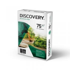 Discovery Paper FSC 5x Ream-wrapped Pks 75gsm A4 White 5x500 Sheets