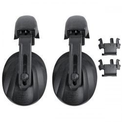 Cheap Stationery Supply of JSP Contour Helmet Mounted Ear Defender (Black) for MK7 and EVO Range Helmets AEJ030-001-100 Office Statationery