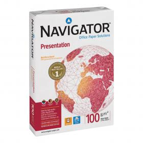 Navigator Presentation Paper Ream-Wrapped 100gsm A3 Wht Ref NPR1000018 500 Shts