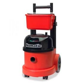 Numatic Pro Vacuum Cleaner PPT390 Hepaflo-filtration Retractable Handle Trolley Ref 900342