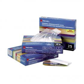 Rexel Wide Entry Shredder Waste Sacks 200 Litres Ref 40014 Pack of 50