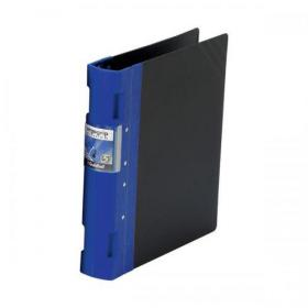 Guildhall GLX Ergogrip Binder Capacity 400 Sheets 4x 2 Prong 55mm A4 Blue Ref 4532Z Pack of 2