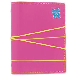 Cheap Stationery Supply of Filofax London 2012 Line Pattern Pocket Organiser (81mm x 120mm) Pink 021612 Office Statationery