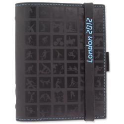 Cheap Stationery Supply of Filofax London Icons Pocket Organiser (81mm x 120mm) Black 021112 Office Statationery