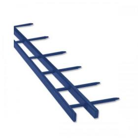 GBC SureBind Secure Binding Strips 25mm 10 Prongs Bind 250 Sheets A4 Blue Ref 1132845 Pack of 100