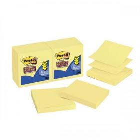 Post-it Super Sticky Z Notes 76x 76mm Canary Yellow Ref R330-12SS-CY-EU Pack of 12