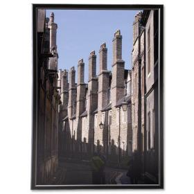 5 Star Facilities Snap Frame with Non-glass Polystyrene Front Back-loading A3 420x297mm Black