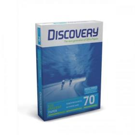 Discovery Paper FSC 5x Ream-wrapped Pks 70gsm A4 White Ref 5x500 Sheets
