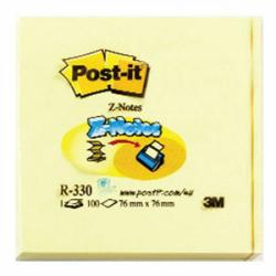 Cheap Stationery Supply of Post-it Z-Notes 76 x 76mm Canary Yellow (Pack of 12) R330 Office Statationery