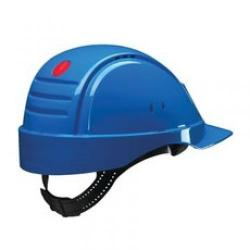 Cheap Stationery Supply of 3M G2000C Solaris Safety Helmet Ventilation Peltor Uvicator Neck Protection Blue G2000CUV-BB Office Statationery
