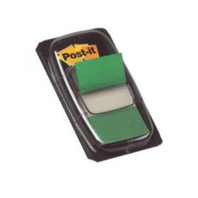 Post-it Index Tabs 25mm Green with Dispenser (Pack of 600) 680-3