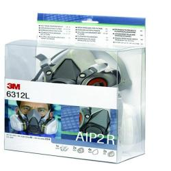Cheap Stationery Supply of 3M Half Mask And Filter Kit 6312L Office Statationery