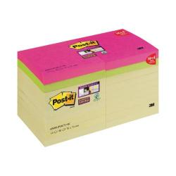 Cheap Stationery Supply of Post-it Super Sticky 76 x 76mm Canary Yel (Pack of 18) 654SS-P14CY+4C Office Statationery