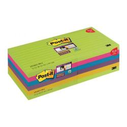 Cheap Stationery Supply of Post-it Super Sticky 101x101mm Ultra (Pack of 12) 675-SSUC-P8+4 Office Statationery