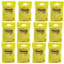 Cheap Stationery Supply of Post-it Notes 76 x 76mm Yellow (Pack of 12) 6820YEL Office Statationery