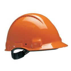 Cheap Stationery Supply of 3M Peltor Safety Helmet Orange UV Stabilised ABS G3000 Office Statationery