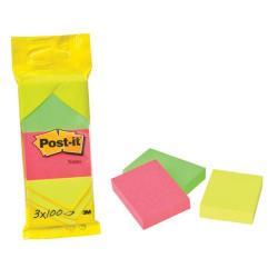 Cheap Stationery Supply of Post-It Notes 38X51mm 100 Sheet Pad Neon Assorted (Pack of 36) 6812 Office Statationery