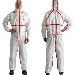 Cheap Stationery Supply of 3M Premium Coverall Size Extra Extra Large White 4565XXL 4565XXL Office Statationery
