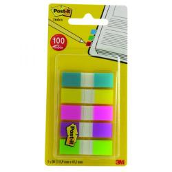 Cheap Stationery Supply of Post-it Portable Small Index 12mm Assorted (Pack of 100) 683-5CBINDEX Office Statationery