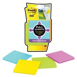 Cheap Stationery Supply of Post-It Super Sticky Full Adhesive Notes Yellow/Pink/Blue/Limeade F330-4SSAU Office Statationery