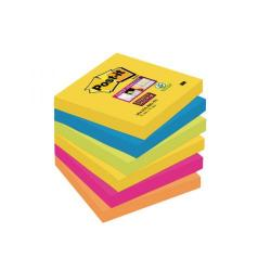 Cheap Stationery Supply of Post-it Super Sticky 76x76mm Rio (Pack of 6) 654-6SS-RIO-EU Office Statationery